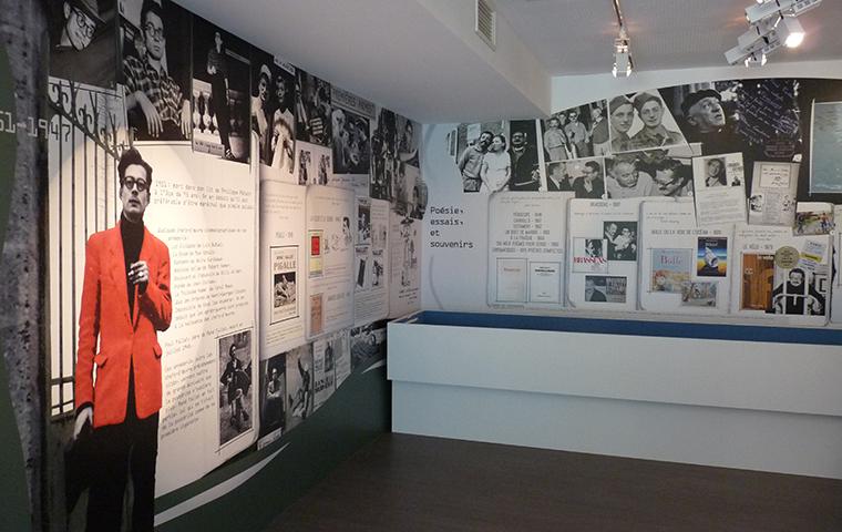 Exposition René Fallet à Jaligny sur Besbre